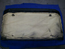 Triumph Stag Rear Seat Back Nice Black