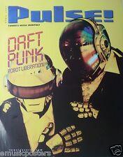"DAFT PUNK ""ROBOT LIBERATION-2001 PULSE MAGAZINE"" U.S. PROMO POSTER - House Music"