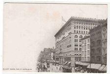 Ellicott Square Main Street Buffalo New York 1910c postcard
