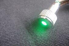 Green Led Indicator Speaker Amplifier Power Pilot Dash Light Bulb 8mm 12v-24v