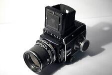 rolleiflex SL66 distagon 80mm f4 avec obturateur central 1/500 sec