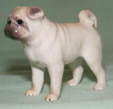 Klima Miniature Porcelain Animal Figure Pug Dog Standing K683