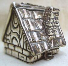 Zedaka Box Handmade Sterling Silver Zedaka Box House Shape Made By S. Katan