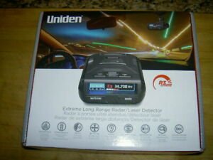 uniden r3 extreme long range laser detector with hard wire and mirror mount