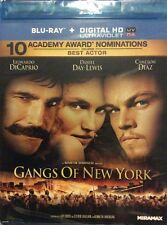 Gangs of New York Blu-ray Brand New Sealed DiCaprio Scorsese Movie