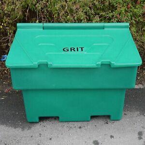 200 Litre Green Winter Grit Storgae Bin - Holds 10 Bags of Salt