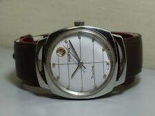 Vintage Fortis Trueline Automatic Date Swiss Mens Wrist Watch E401 Old Used