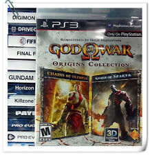 2 IN 1 PS3 GOD OF WAR ORIGINS COLLECTION Sony Playstation Action Games SCE Bulk