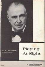Playing At Sight by E. C. Moore - 1963 LeBlanc Corp. - Vintage Staplebound