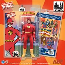SUPER FRIENDS; THE FLASH SERIES 3;  8 INCH ACTION FIGURE MOSC NEW MINT