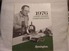 Remington 1976 catalog ammunition components
