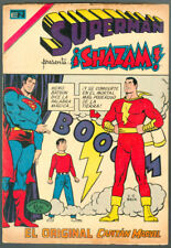 SHAZAM # 1 BECK MEXICAN VARIANNT SUPERMAN # 928  SPANISH COMIC NOVARO RRR