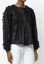 NEW Isabel Marant Nell Lace Blouse. Tag Attached.Size 34