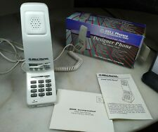 Rare Vintage Bell Telephone The Great Little Phone, White Excellent Condition!