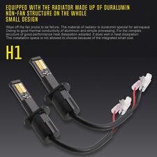 H1 CREE COB LED Headlight Conversion Kit 180W 18000LM Lamp Bulb High Power 6500K