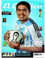 RIQUELME - El grafico # 4351 w/GUIDE to FIFA WORLD CUP GERMANY 2006 Argentina