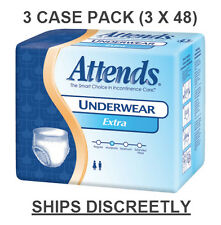 Attends Extra Absorbency Underwear XXL Pull On Disposable Qty 144 Case Pack