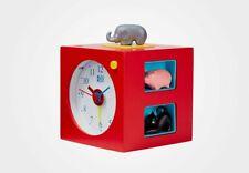 KOOKOO KidsAlarm, Kinderwecker mit Tierstimmen - Rot (KA5000R)