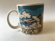 1987 NASA Spaceport USA Mug Karol Western Shuttle Astronaut Space