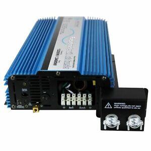 AIMS Power PWRIX2000SUL Pure Sine 2000 Watt Inverter w/ Transfer Switch