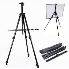 Folding Art Artist Telescopic Field Studio Painting Easel Tripod Display + Bag