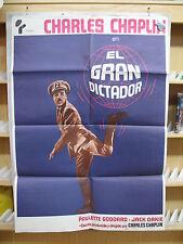 A2819  EL GRAN DICTADOR-CHARLES CHAPLIN-CHARLOT-PAULETTE GODDARD-