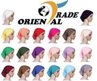 TUBE BONNET Muslim Women Hijab Hat Islamic Underscarf Headwrap Hijab Cap