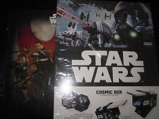 STAR WARS LECLERC ROGUE ONE ALBUM POUR COSMIC SHELLS + COSMIC BOX NEUF FRANCAIS