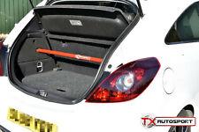 Vauxhall Corsa D VXR SRI 1.6 Turbo Puntal Brace Barra Para Todos Los Modelos De 3 Puertas-Rojo