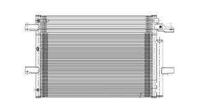 A/C Condenser TYC 3894