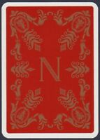 Playing Cards 1 Single Card Old French Wide NAPOLEON Crest Art Picture Design 4