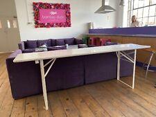 Solid Pine Trestle Table 220 X 50cm