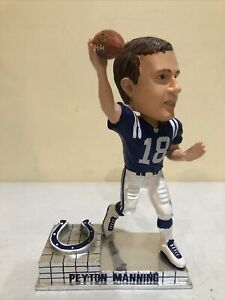 Peyton Manning Bobblehead Colts Legends of the Field Forever Collectible LE 2005