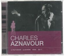 CHARLES AZNAVOUR L'ESSENTIEL  CD F.C. SIGILLATO!!!