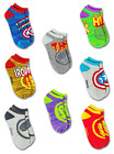 AVENGERS CAPTAIN AMERICA 8-Pack Low Cut No Show Socks NWT Kids Ages 4-8 or 8-16