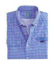 Nwt - Vineyard Vines Men's 'Andros Gingham' Spinnaker L/S Shirt - L