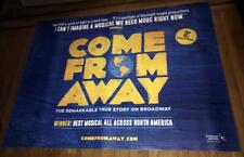 COME FROM AWAY BROADWAY NY NYC 5FT subway POSTER 2019