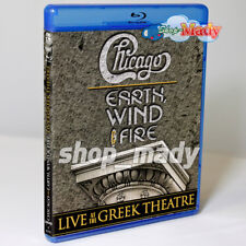 Chicago and Earth, Wind & Fire live at the Greek Theathre Blu-ray Mexican import