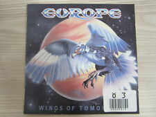 CD /   Europe‎– Wings Of Tomorrow  / RAR /   Epic ‎– CDEPC 26384 /