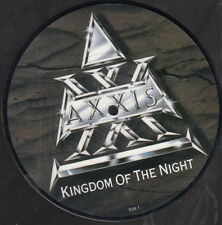 "AXXIS - Kingdom Of The NIght - 7"" Vinyl Single - Picture von 1989"