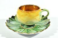 Carl Knoll Art Nouveau Art Nouveau Cup + Ut ° Model Carlsbad° Rare