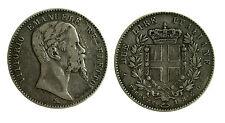 pcc1921) Vittorio Emanuele II Re Eletto (1859-1861) - 2 Lire 1860 FI - segnetti