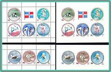 DOMINICAN REP.1960 OLYMPICS ROME ITALY four !   S/S's MNH  SPORTS, FENCING (D07)