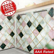 300cm Modern Aluminum Coated Kitchen Wall Self Adhesive Peel & Stick Wallpaper