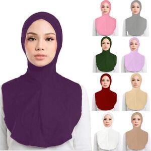 Muslim Hijab Islamic Niqab Veil Burqa Burka Nikab Prayer Scarf Shawl Underscarf
