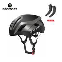 ROCKBROS MTB Road Bike Cycling Helmet 57-62cm EPS Integrally Helmet 3 in 1 Grey