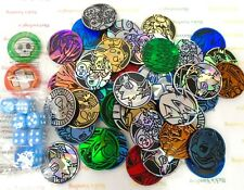 Pokemon 50 Random Assorted Tokens Coins Counters and Dice Mixed Lot