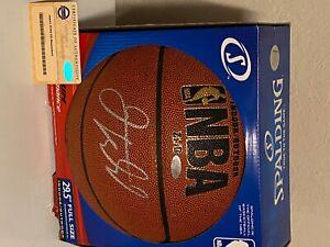 Jason Kidd New Jersey Nets Autographed Basket COA Steiner