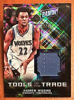 2016 Panini National Andrew Wiggins Hyper Foil Jersey /49 Timberwolves SP