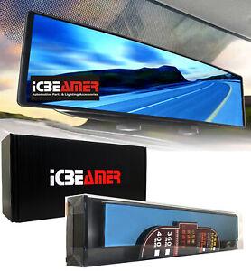 Broadway 400mm Wide Flat Interior Blue Tint Rear View Universal Fit Mirror U427